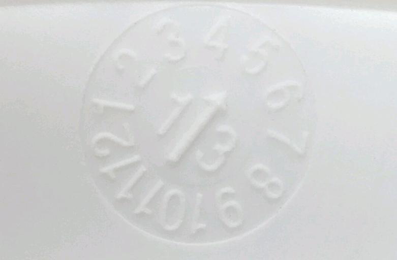 Carbon Fiber Hard Hat Expire Identification