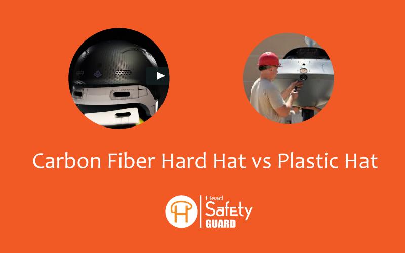 Carbon Fiber Hard Hat vs Plastic Hat